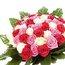 цветы из атласных лент схема.