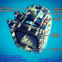 TRUCK CELL 11 PLATE HHO  DRY CELL HYDROGEN GENERATOR FOR BIG JOBS  DIESEL GAS