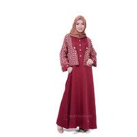 Contoh Model Gamis Rompi Muslimah Cantik Dan Modis Zarifa House