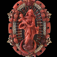 19 cm... Rosenthal selection /'María vidrio cristal/' pequeñas cofia para placa en pie d