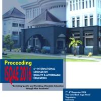 PDF) Proceedings ISQAE UTY 2016 | Panitia ISQAE UTY 2016