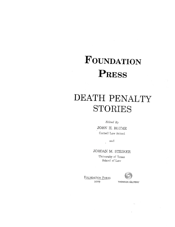 Pdf When Willie Francis Died The Disturbing Story Behind One Of The Eighth Amendment S Most Enduring Standards Of Risk Deborah W Denno Academia Edu