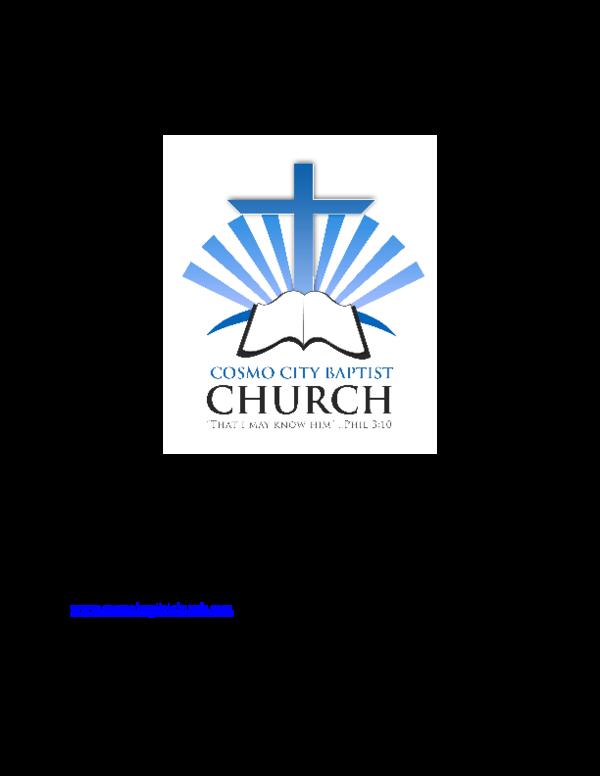 PDF) Bible Study The Book of Ephesians | john ndhlovu - Academia edu