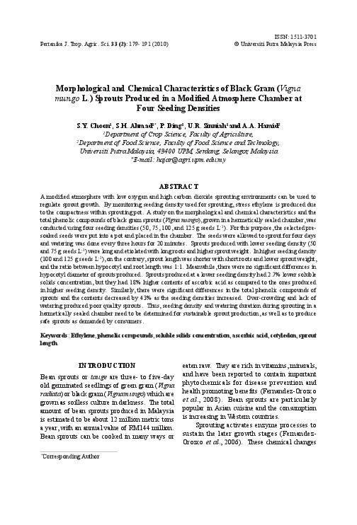 PDF) Morphological and Chemical Characteristics of Black