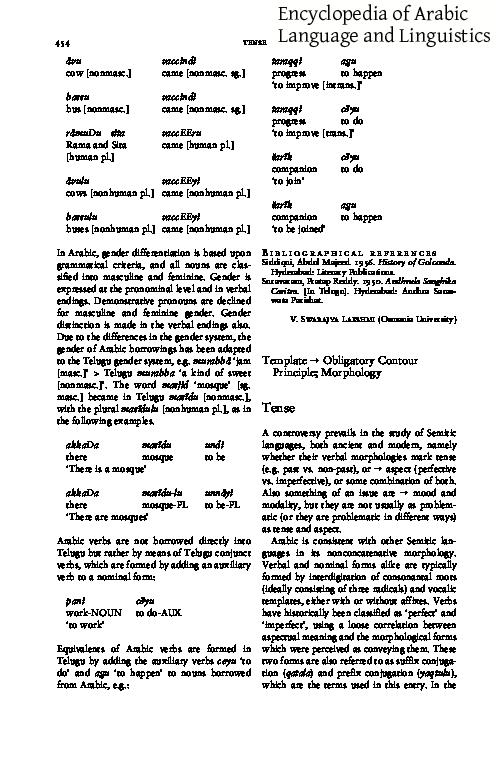 PDF) Tense | Uri Horesh - Academia edu