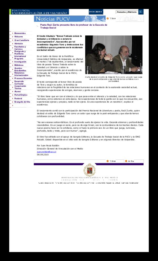 Pdf Presentacion De Libro Edgardo Toro Quezada Academiaedu