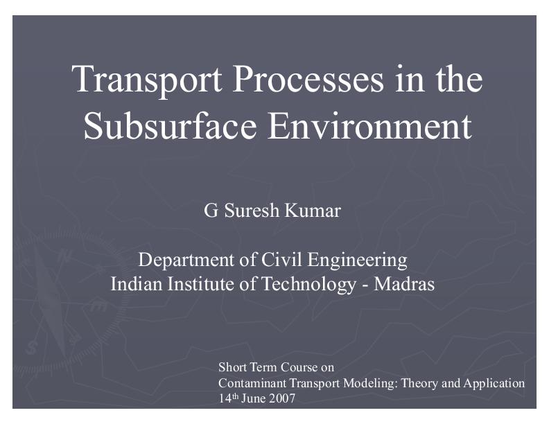 PPT) Ground Water Development PPTs | Dr Shashidhar thhatikkonda