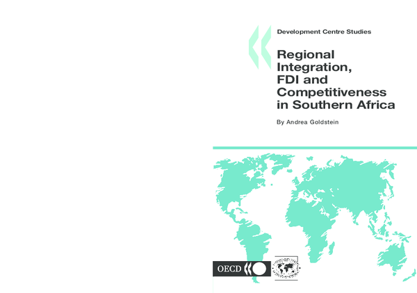 PDF) Regional integration, FDI and competitiveness in