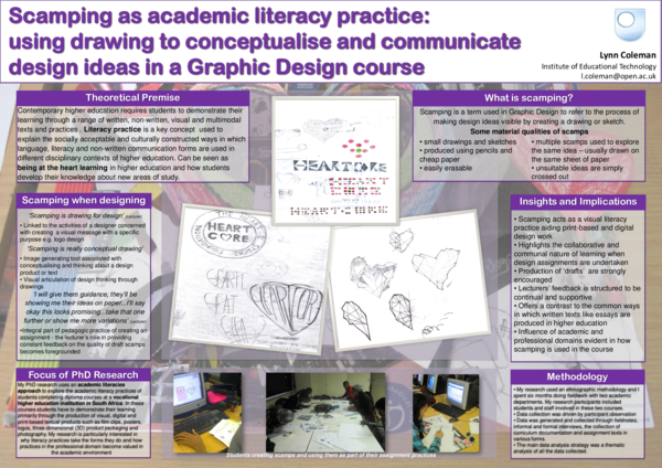 PDF) Scamping as academic literacy practice: using drawing