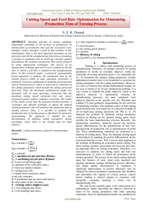 Pdf Ijmer International Journal Of Modern Engineering Research Ijmer Journal Academia Edu