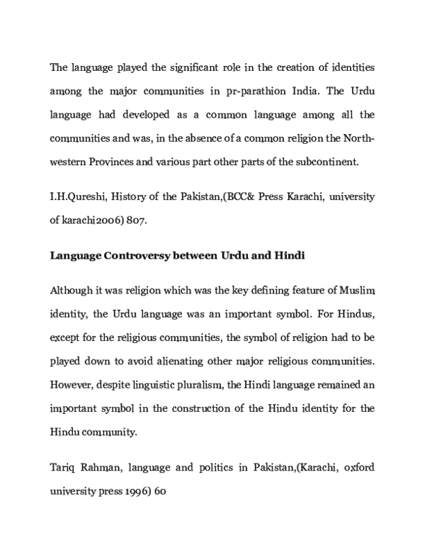 DOC) Role of Language And Script in Rising the Religious