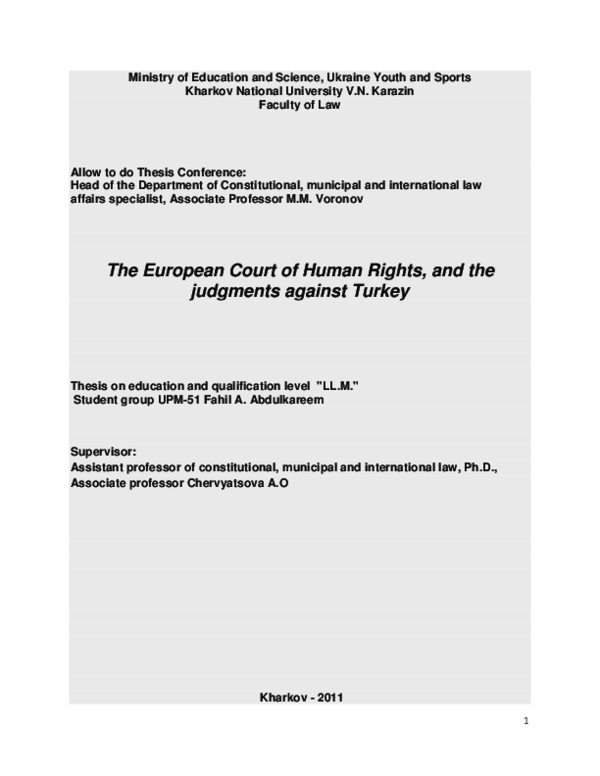 Phd thesis on human rights education