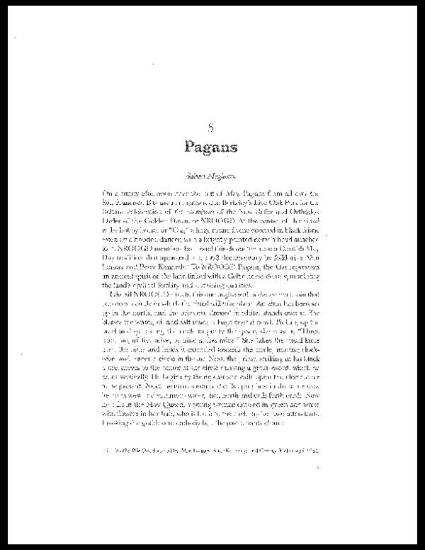 PDF) Pagans   Sabina Magliocco - Academia edu