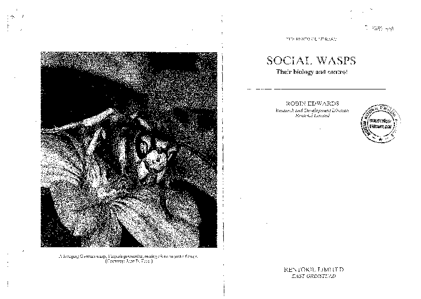 3e4a3554abc PDF) Edwards (1980) Social Wasps Their Biology and Control