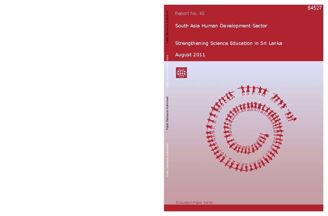 PDF) Strengthening Science Education in Sri Lanka | Upul