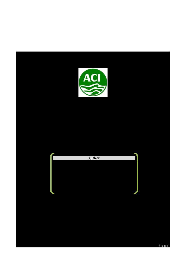PDF) ALTMAN'S Z-Score Analysis: ACI Limited   MD  ZABER TAUHID ABIR