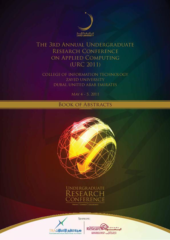 PDF) URC 2011 | Ayad Salhieh - Academia edu
