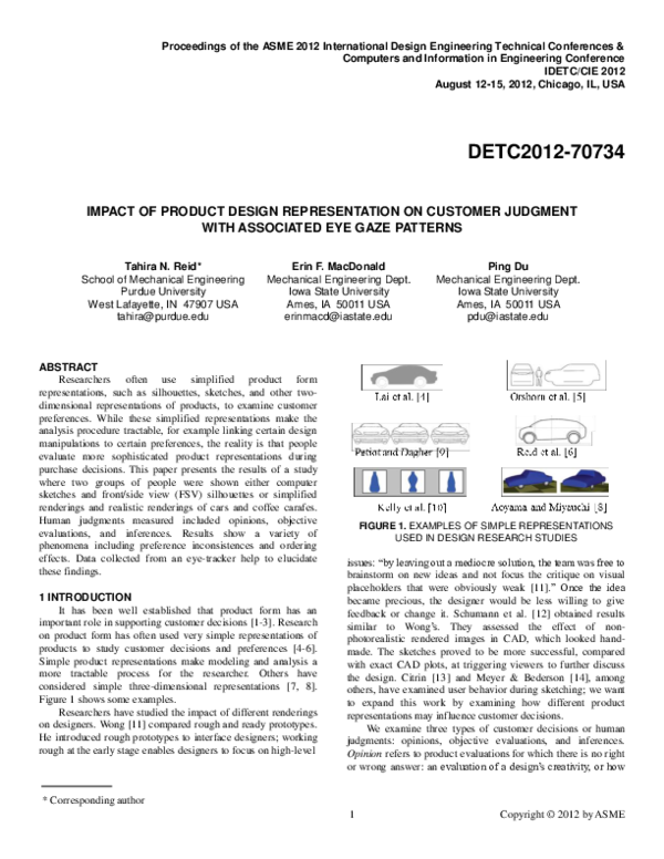 Pleasing Pdf Draft Impact Of Product Design Representation On Download Free Architecture Designs Oxytwazosbritishbridgeorg