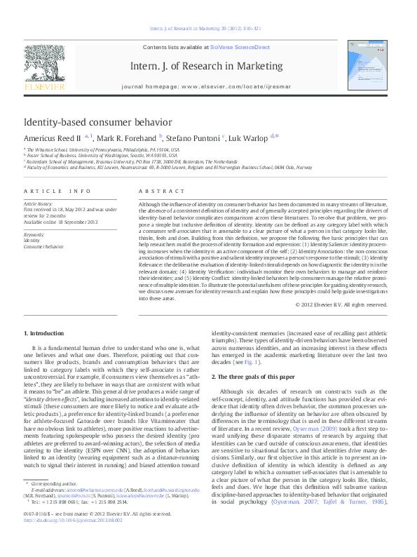 PDF) Intern  J  of Research in Marketing | Luk Warlop - Academia edu