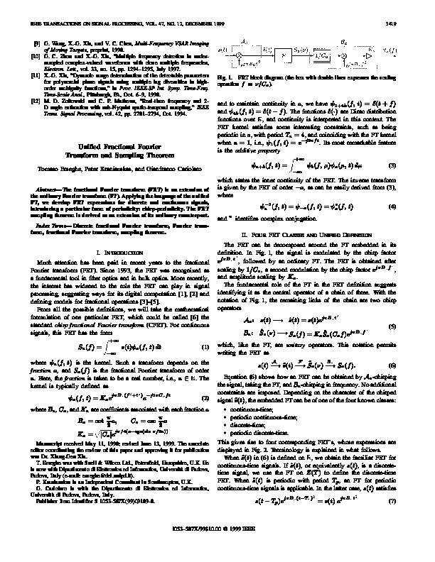 Sampling Theorem Pdf