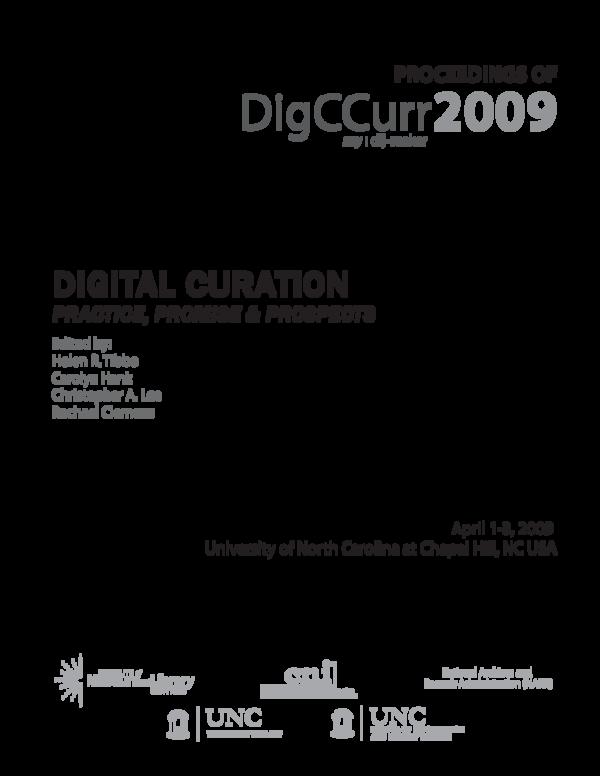 PDF) Thinking like a digital curator: Creating internships