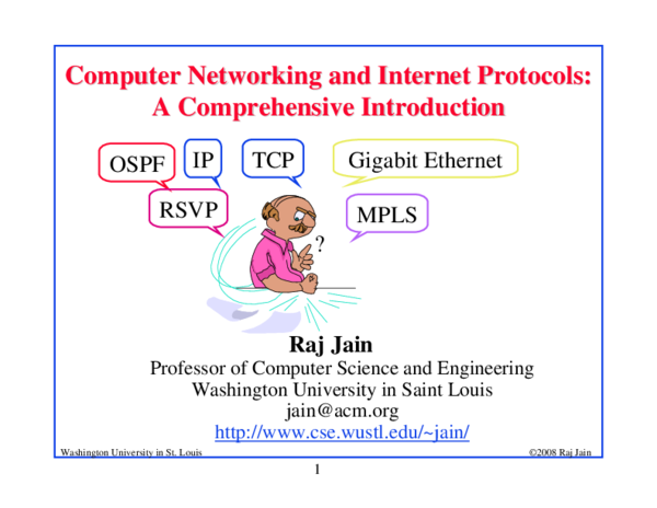 PDF) Computer Networking and Internet Protocols: A