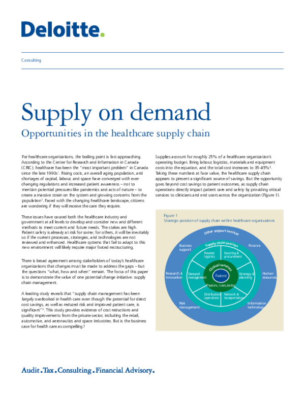 PDF) Supply on demand | Sarah Bourque - Academia edu