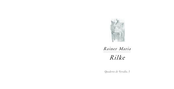 Pdf Rilke Ante El Vacío Enrique Gutiérrez Rubio