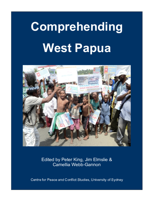 PDF) Large corporations and obstacles to peace in Papua ...