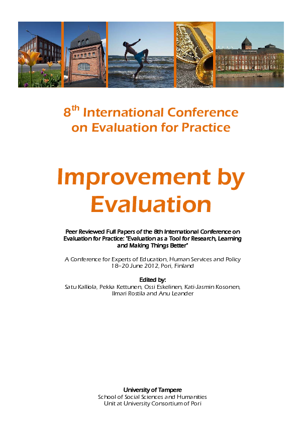 PDF) Employee-driven evaluation in change and innovation – a