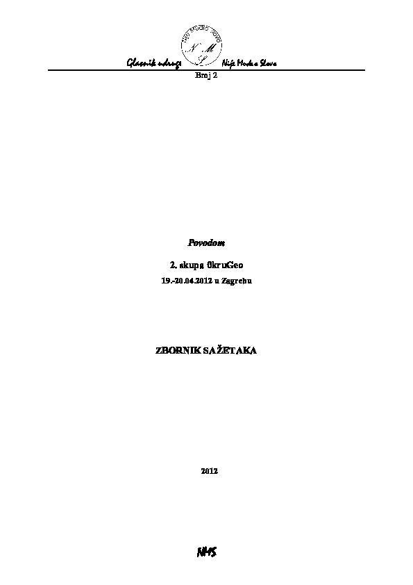arheometrijsko datiranje
