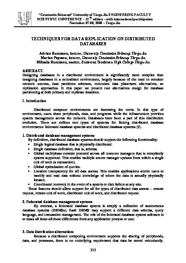 Distributed Database Ceri Pdf
