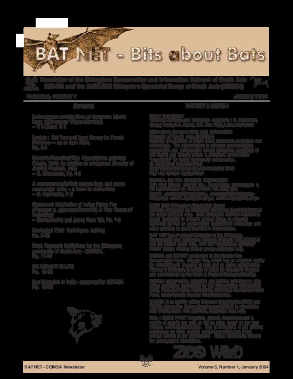PDF) Cantor's Roundleaf Bat Hipposideros galeritus Cantor, 1846: An