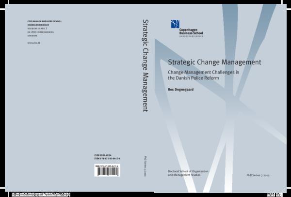 PDF) Strategic Change Management: Change Management