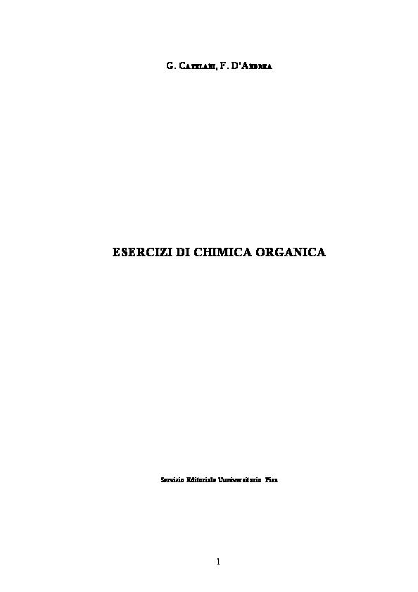 Fondamenti Di Stechiometria Pdf