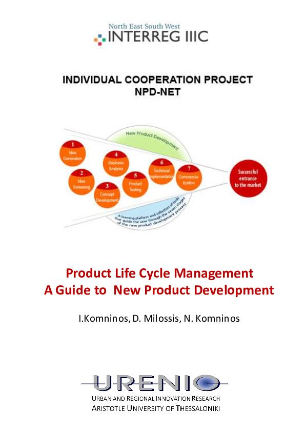 PDF) Product life cycle management   Nicos komninos
