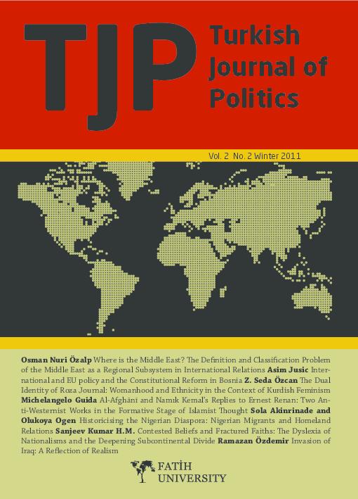 PDF) Turkish Journal of Politics (TJP) V  2 N  2  | Ihsan Yilmaz
