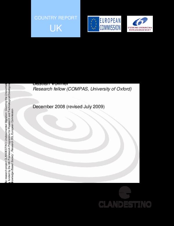 PDF) Undocumented Migration | Bastian Vollmer - Academia edu