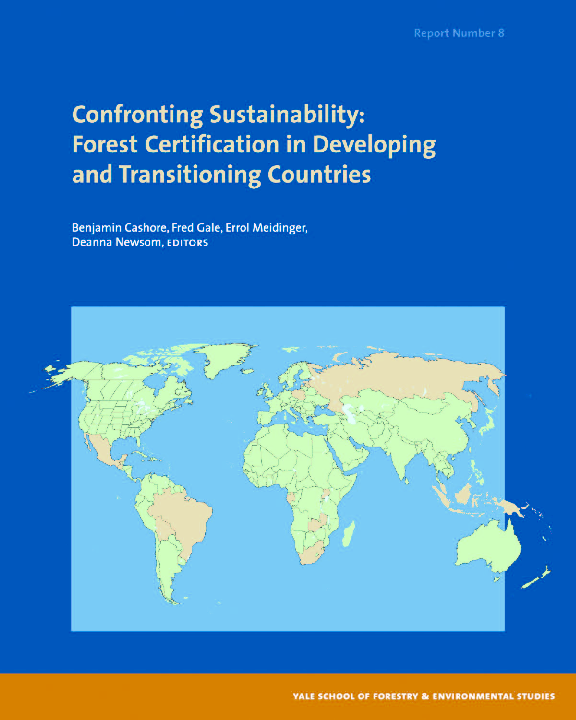 Pdf Confronting Sustainability Forest Certification In