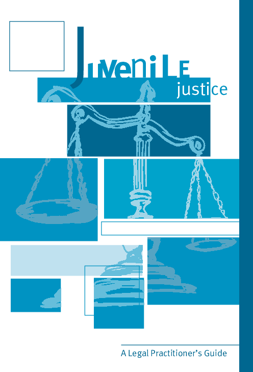 PDF) Juvenile Justice – A Legal Practitioners Guide (4th edn