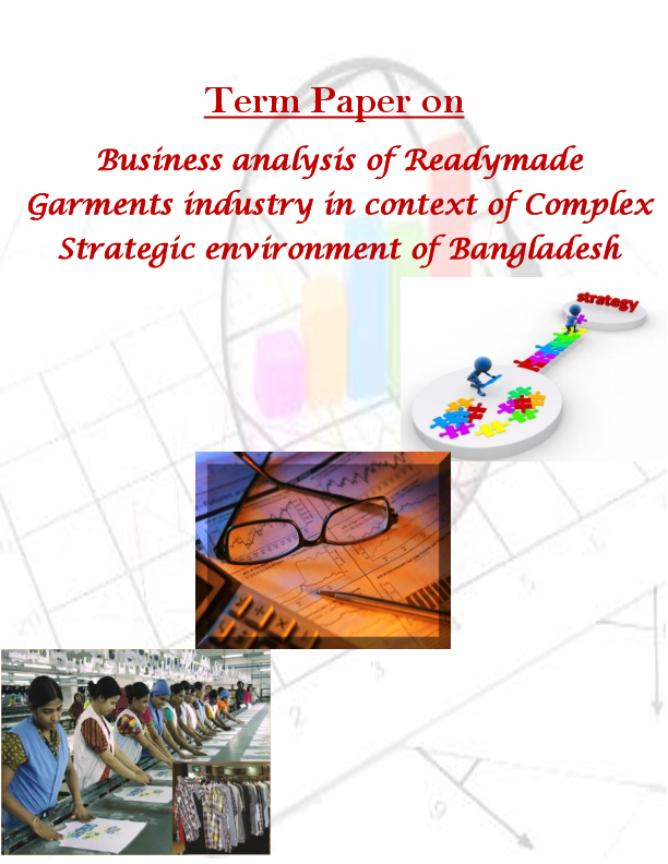 DOC) Competitive and Business Environment analysis of RMG