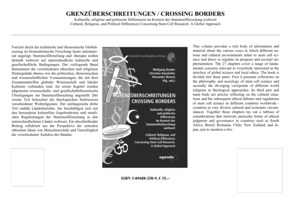 PDF) Crossing Borders  Religious and Political Differences