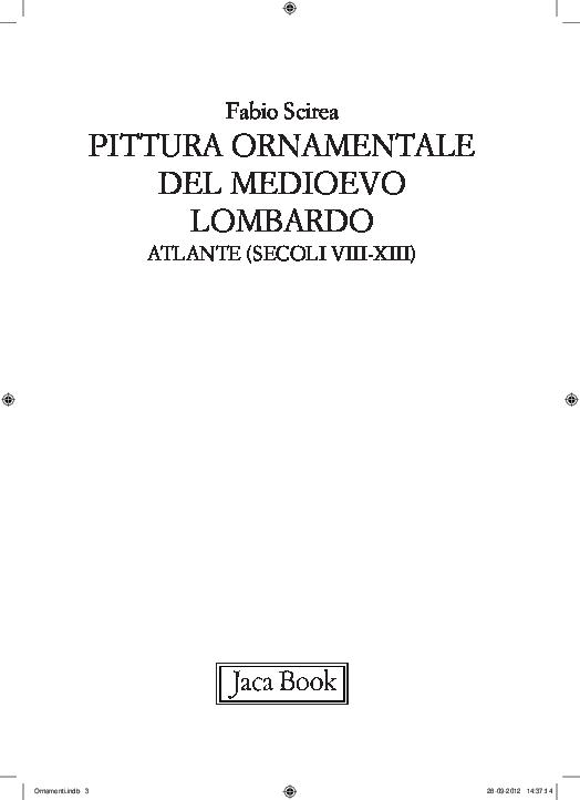 prezzi di sdoganamento scarpe sportive vendita outlet PDF) 2012 Pittura ornamentale del Medioevo lombardo. Atlante ...