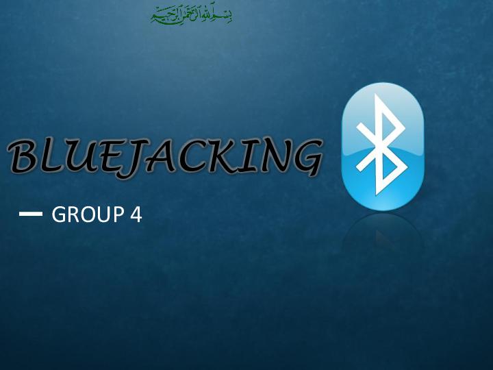 PPT) Bluejacking ppt | Daud sayyed - Academia edu