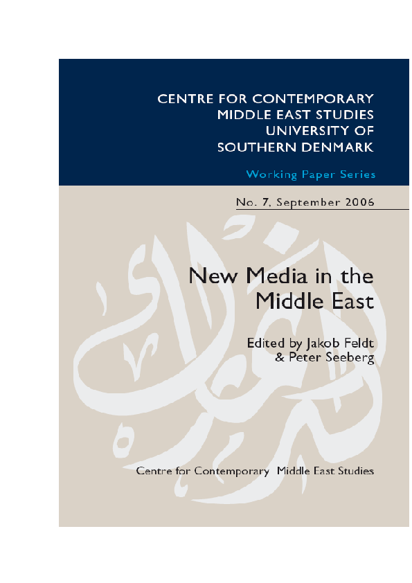 PDF) New Media Infrastructures, Tools, and Shaping the Public Sphere
