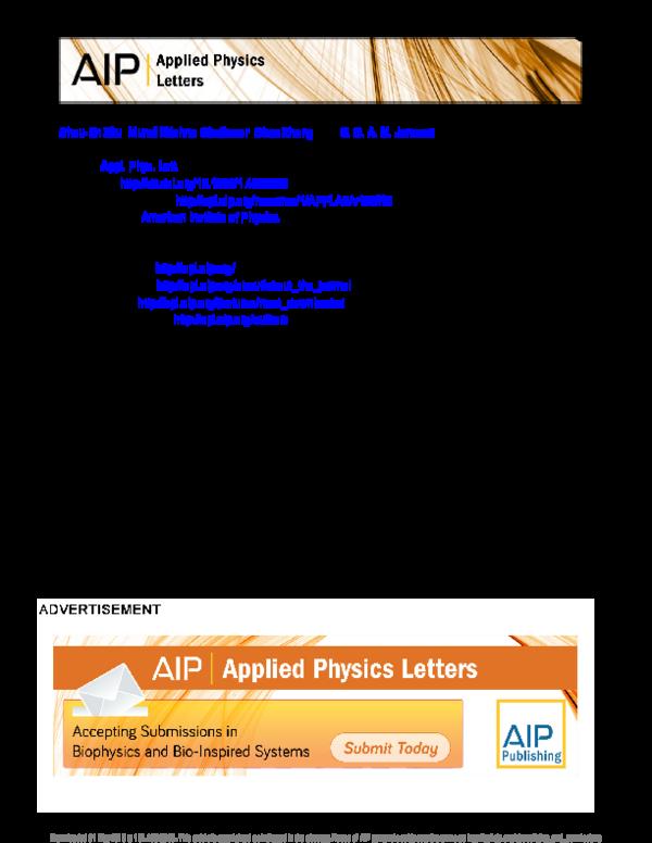 PDF) Graphene based piezoresistive pressure sensor | Shou-En