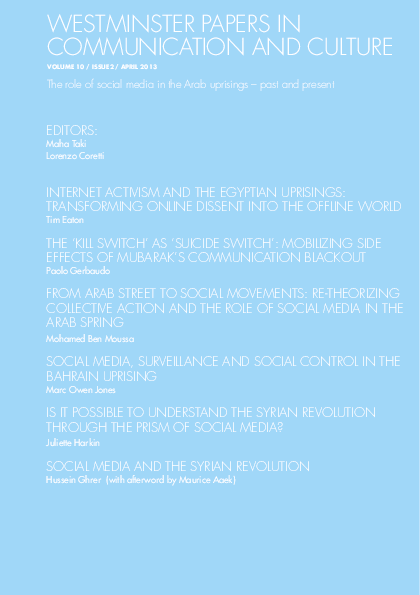 PDF) Social media, surveillance and social control in the