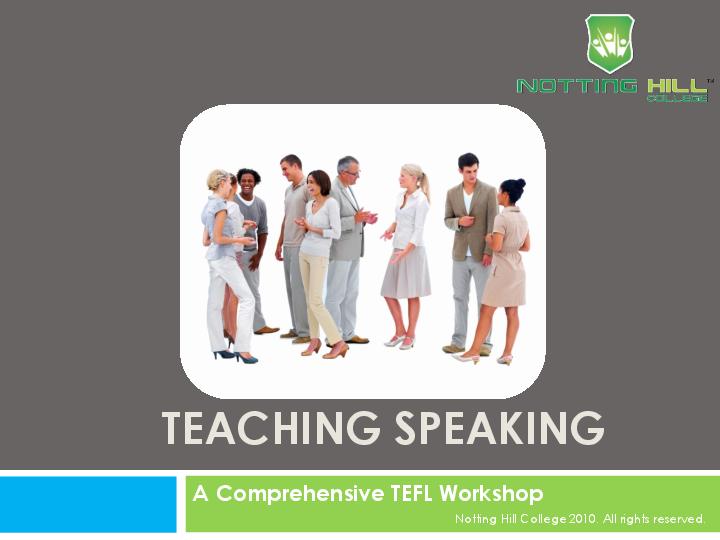 Teaching English Ppt