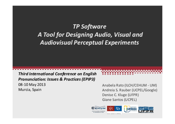 Pdf Tp Software A Tool For Designing Audio Visual And Audiovisual Perceptual Experiments Anabela Rato Academia Edu