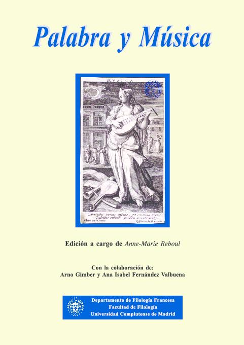 Pdf Palabra Y Música Libro Nathan Gastón Academiaedu